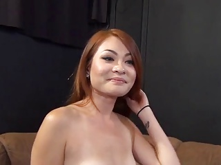 Redhead Asian Babe Has First-class Fuct Audition 420