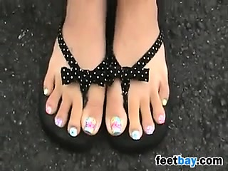 Asian Girls Preety Feet And Lengthy Hands