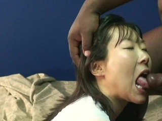 Cute Japanese mouthjobing A oustanding ebony private action