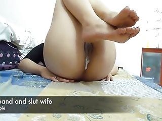 husband added to slutwife creampie