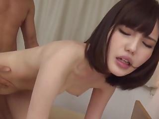 Skinny japanese creampie
