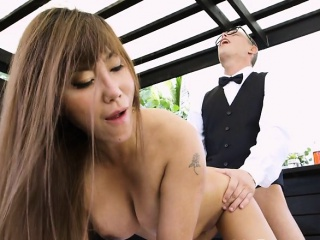 Busty Manager Tiffany Rain Gets Fucked Hard by Component