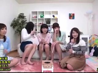 Lovely Japanese teen enjoys raunchy choreograph sex