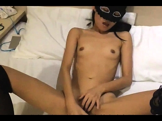 Asian schoolgirl cant wait to carton my cock after class