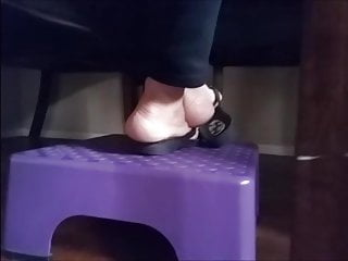 My mom's sandals feet 5-10-19