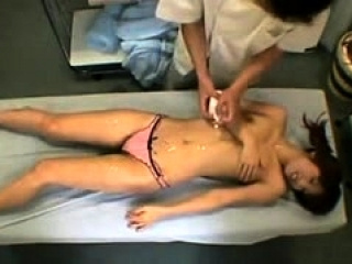 Massage Asian girl misemployment orgasm cams