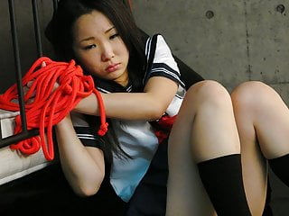 Sweet schoolgirl, Ai Mizushima is colic from pleasure