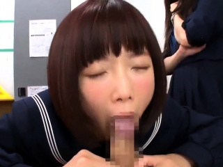 Asian amateur in meticulousness uniform