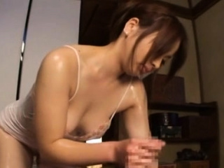 Hallowed exotic gal Ren Mukai cums after a long time riding