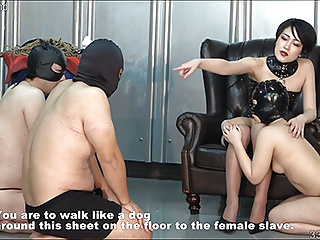 Japanese BDSM Strapon with an increment of Spanking Whipping