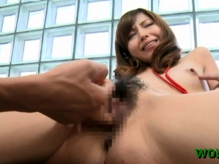 Luscious japanese office gal gets treated as a matter of fact nicely