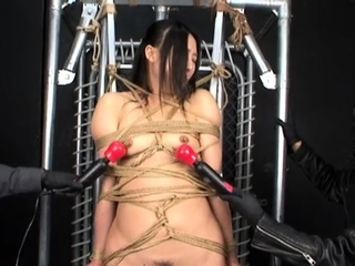Asian needle bdsm of busty japanese Tigerr Juggs