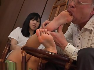 Korea feet worship