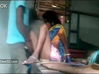 Telugu aunty has sexual intercourse in front of son