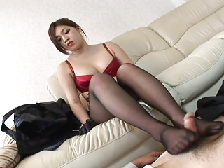 Pantyhose girls Japan