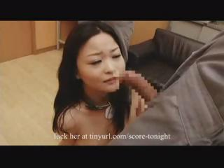 Asian Babe in arms Slave 3-3 Cumshots
